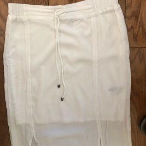 Splendid white long skirt